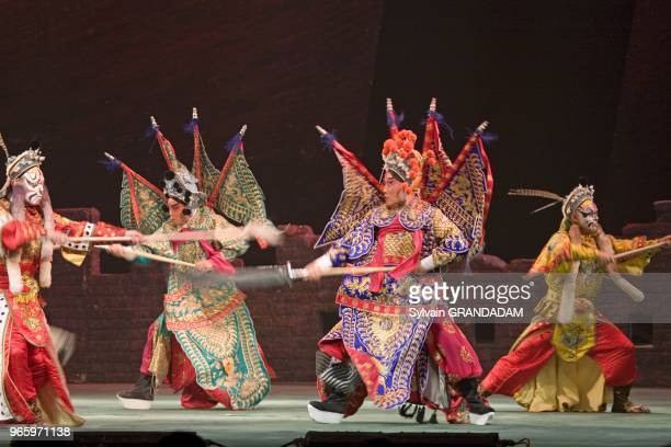 The Peking opera Yuan Chung Huang is performed in the Chang'an theater most renowned place in Beijing Li Chen Su and Yu Kuizhi are the two top...