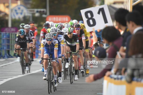 The peloton during the 589km Main Race during the 5th edition of TDF Saitama Criterium 2017 On Saturday 4 November 2017 in Saitama Japan