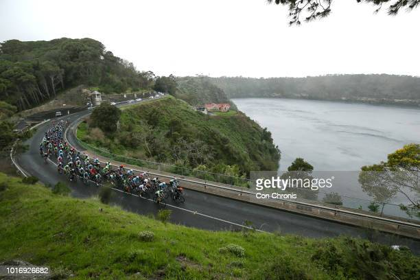 Nathan Elliot of Victoria and Michael Freiberg of Western Australia and the Bennelong Swiss Wellness Cycling Team ride during the 2018 Tour Of The...