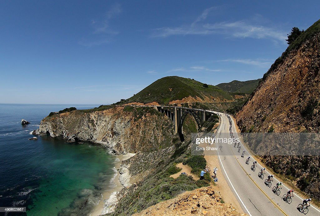 Tour of California - Monterey to Cambria : News Photo