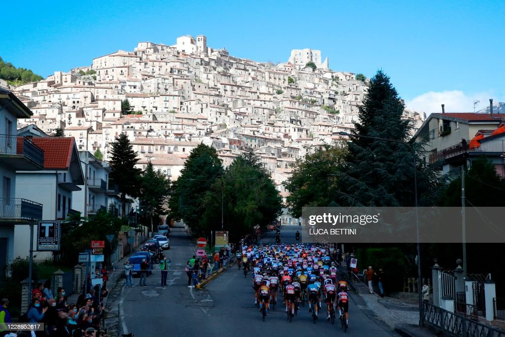 CYCLING-ITA-GIRO-2020-STAGE 6 : News Photo