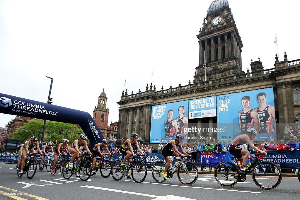 2016 ITU World Triathlon Leeds : News Photo