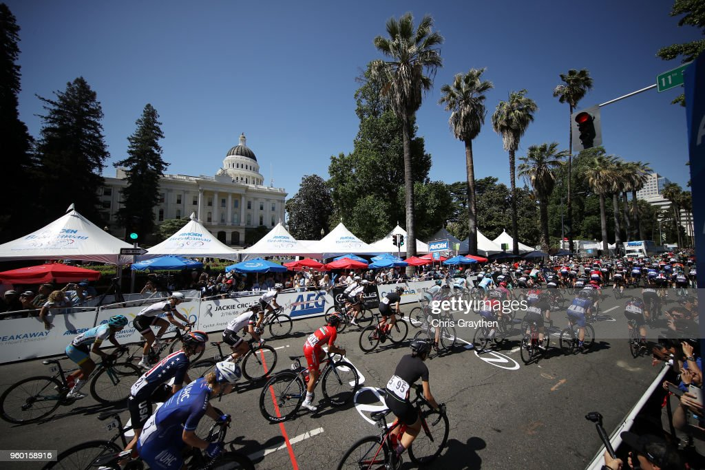 Amgen Tour of California Women's Race Empowered with SRAM - Stage 3 Sacramento