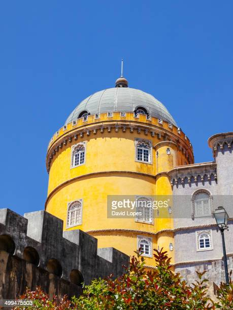 CONTENT] The Pena National Palace is a Romanticist palace in Sintra PortugalThe Pena National Palace is a Romanticist palace in São Pedro de...