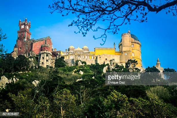 CONTENT] The Pena Palace is a UNESCO World Heritage Site located in Sintra Portugal