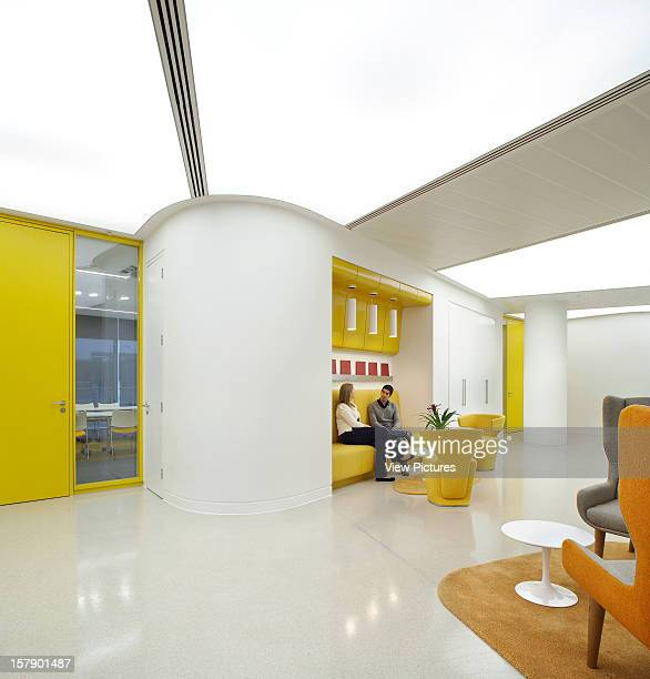 Sr/Sheppard Robson Manchester Yellow Breakout AreaOffice Architect