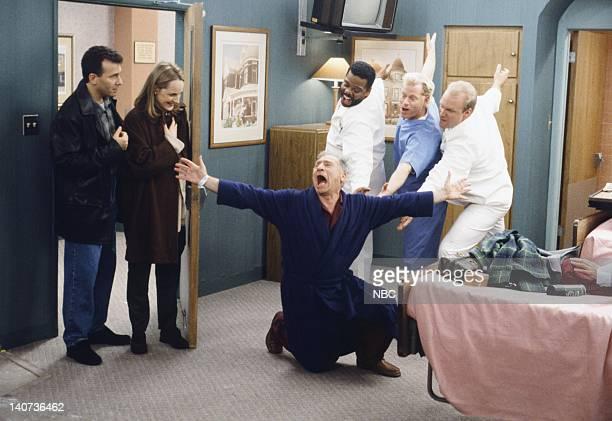 YOU 'The Penis' Episode 14 Pictured Paul Reiser as Paul Buchman Helen Hunt as Jamie Stemple Buchman Mel Brooks as Uncle Phil Lawrence Mandley as Leon...