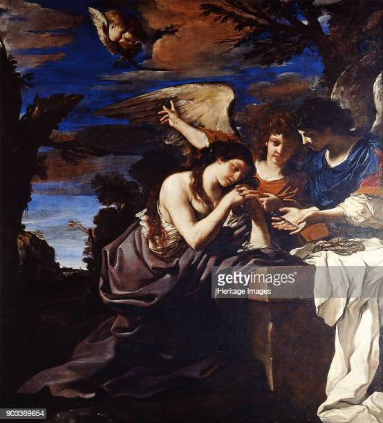 The Penitent Mary Magdalene with Two Angels Found in the Collection of Musei Vaticani in Viale Vaticano Rome