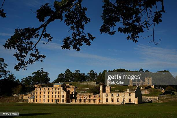 The Penitentiary in the Port Arthur Historical Site is seen on April 18 2016 in Port Arthur Australia The historic town became infamous on April 28...