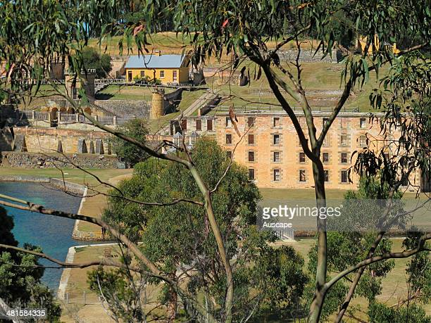 The Penitentiary originally built 18421845 as a flour mill and granary ruined by fire in 1897 Port Arthur Historic Site Tasmania Australia
