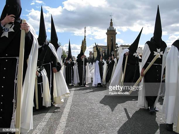 The Penitents in Sevilla
