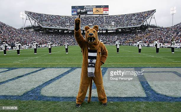 The Penn State Nittnay Lion celebrated his 100th birthday in front of a home coming crowd of 108062 as the Iowa Hawkeyes defeated Penn State 64...