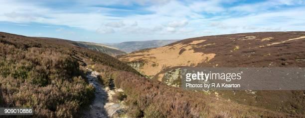 The Pennine Way at Torside, Derbyshire, England