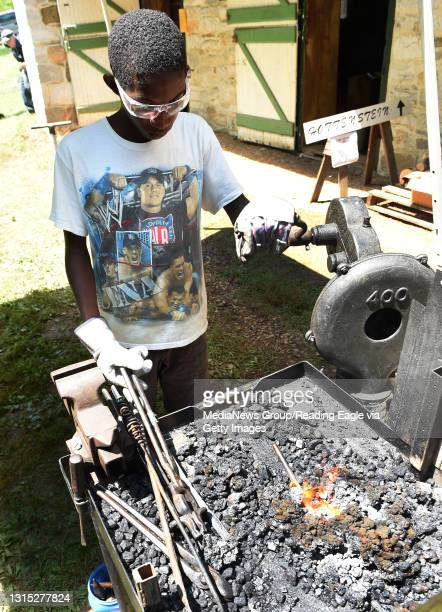 """The Pennsylvania Artist Blacksmiths' Association held their annual """"Blacksmith Day"""" on the grounds of Old Dry Road Farm in Lower Heidelberg Township..."""