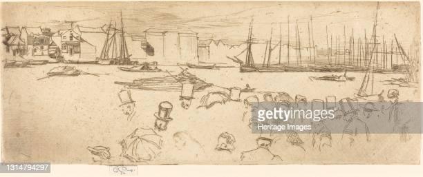 The Penny Boat, 1859. Artist James Abbott McNeill Whistler.