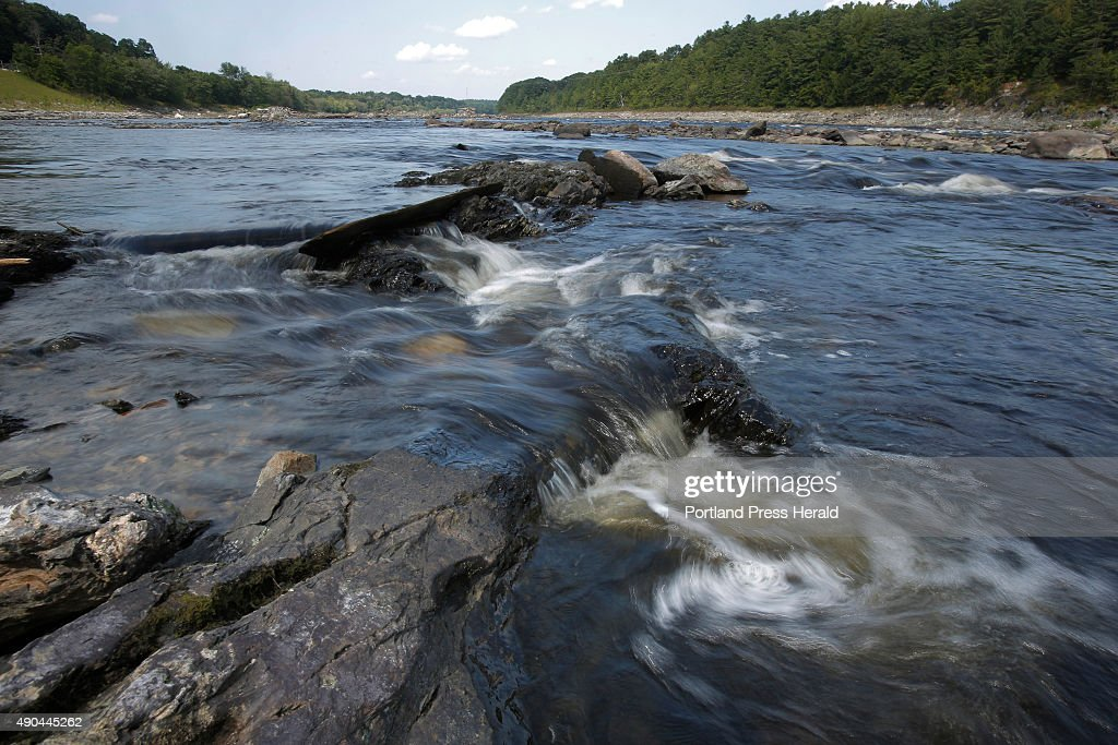 Penobscot River since Veazie, Great Works dam removals : News Photo