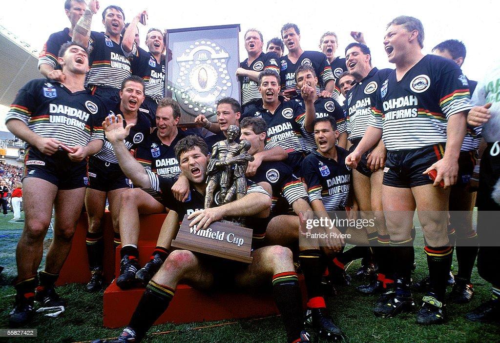 1991 NSWRL Grand Final - Panthers v Raiders : News Photo