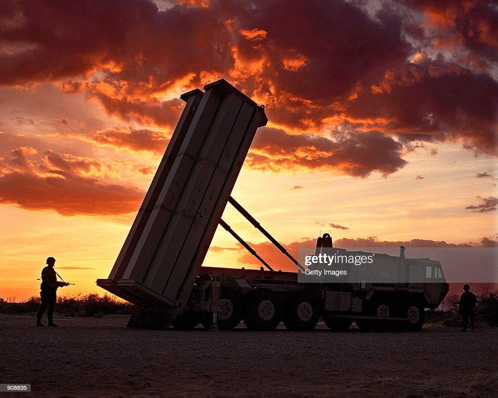 "Pentagon delays ''THAAD"" anti-missile system : News Photo"