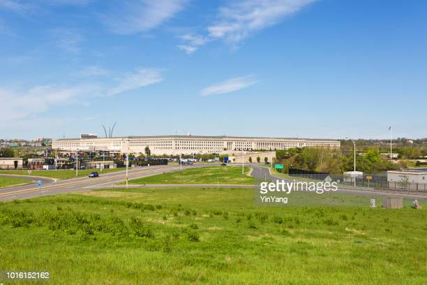 the pentagon building in virginia, usa - department of defense stock pictures, royalty-free photos & images