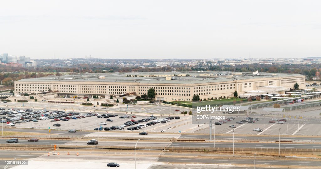 The Pentagon building, located in Arlington County, Virginia... : News Photo