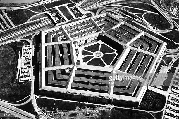 The Pentagon in Arlington Virginia the headquarters of the Department of Defence