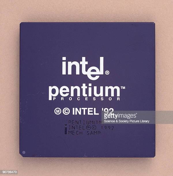 The Pentium microprocessor enabled another dramatic leap in computing speed With 31 million transistors it was the most complex microprocessor of its...