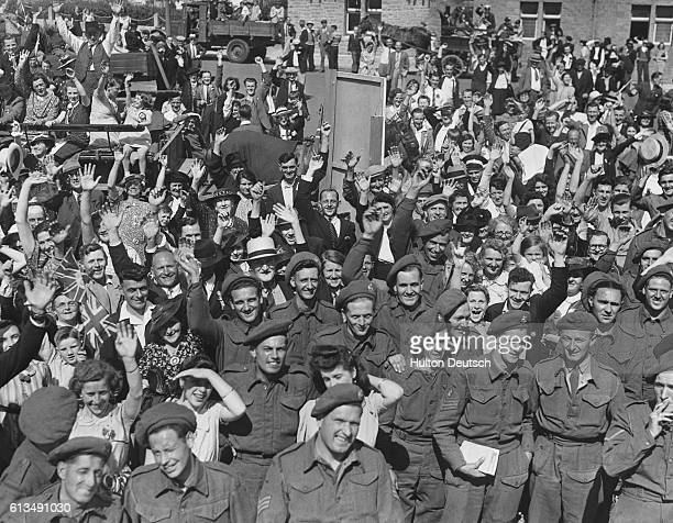 The people of Jersey celebrate their liberation from Nazi occupation