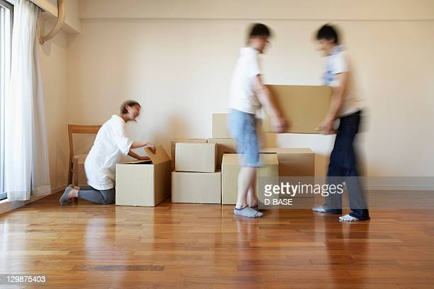 The people who work on moving