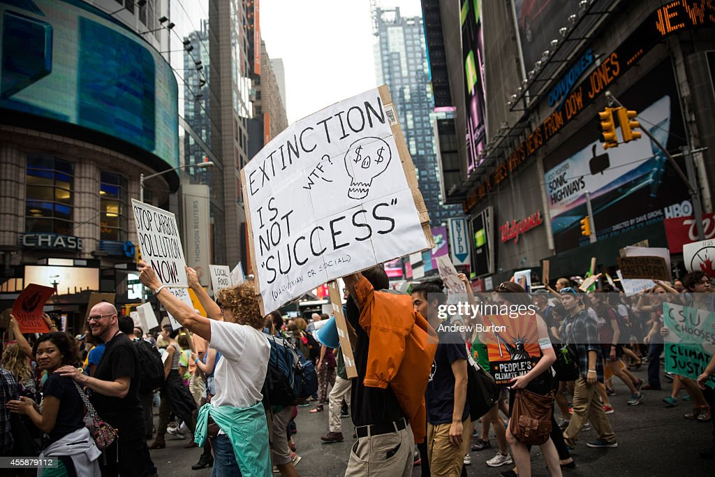 People's Climate March : News Photo