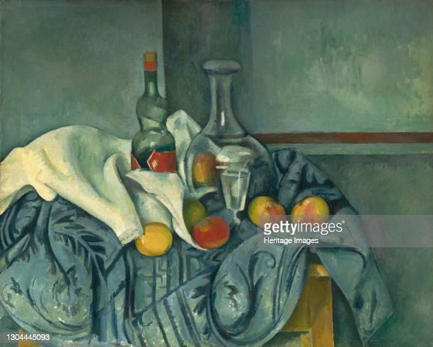 The Peppermint Bottle, 1893/1895. Artist Paul Cezanne.