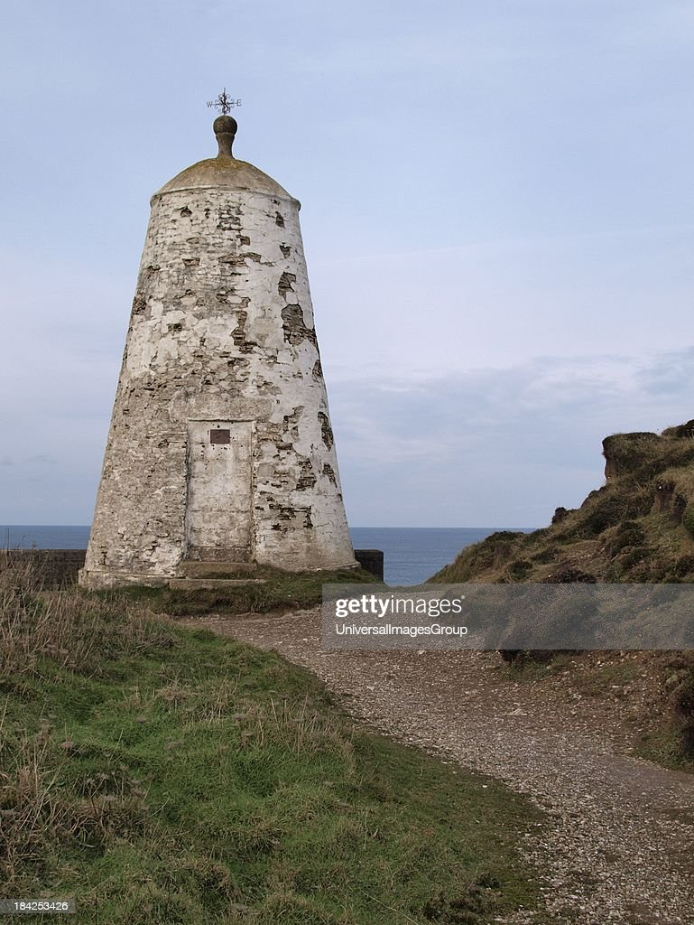 The pepperpot lookout hut, Portreath, Cornwall, UK  News