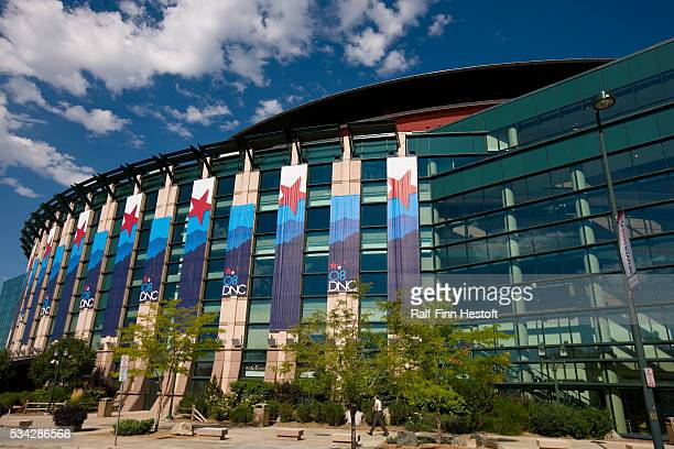 The Pepsi Center in Denver Colorado site of the 2008 Democratic National Convention