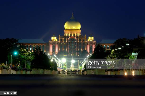The Perdana Putra the office complex of the Prime Minister of Malaysia stands in Putrajaya Malaysia on Wednesday Sept 23 2020 Malaysia's Prime...