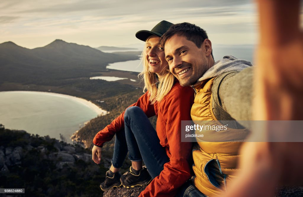 The perfect backdrop for our love : Stock Photo
