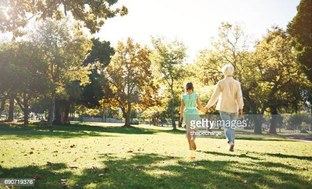 The perfect bonding activity for grandmother and granddaughter