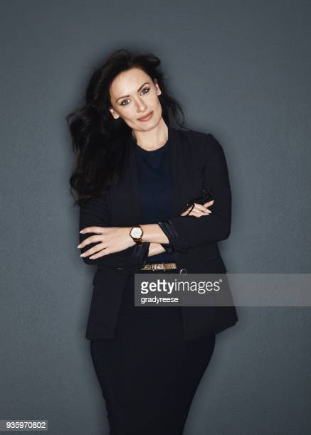 the perfect businesswoman - gray blazer stock pictures, royalty-free photos & images