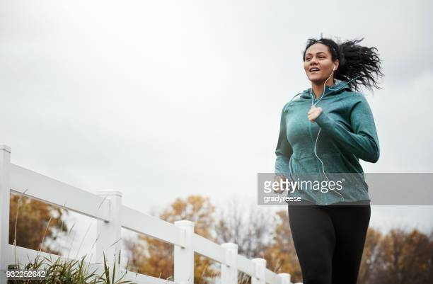 the perfect combo of fresh air and fitness - cardiovascular exercise stock pictures, royalty-free photos & images