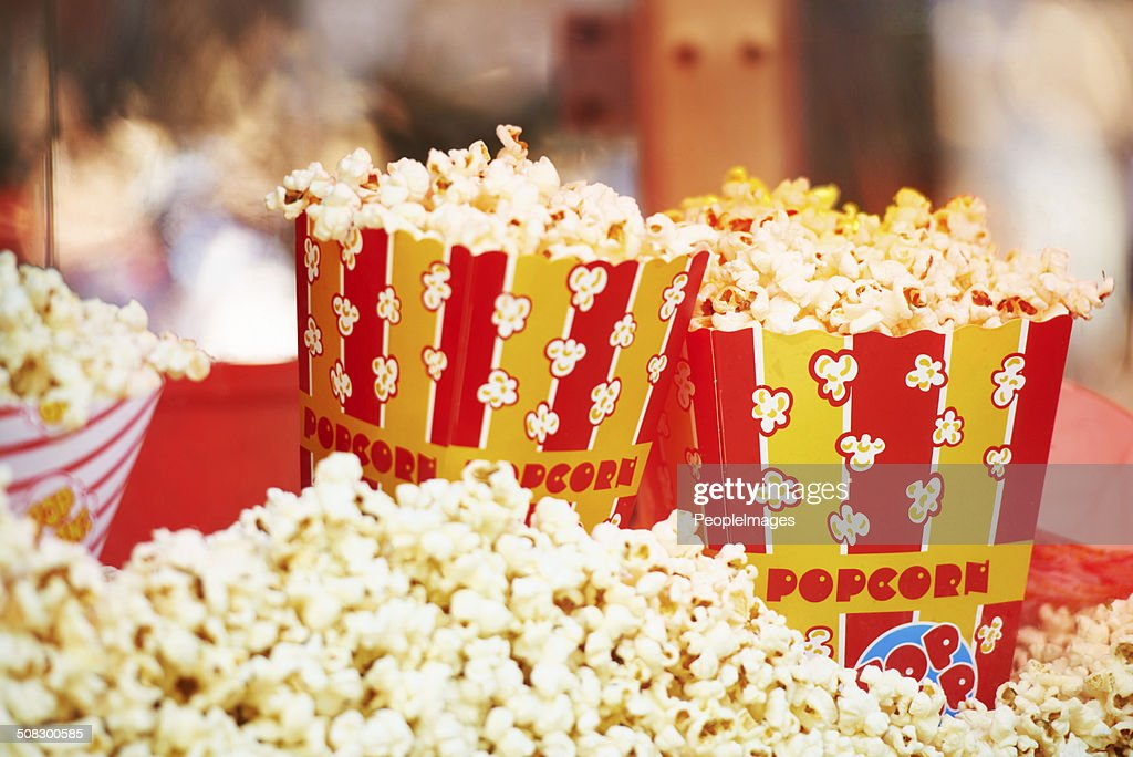The perfect entertainment snack : Stock Photo