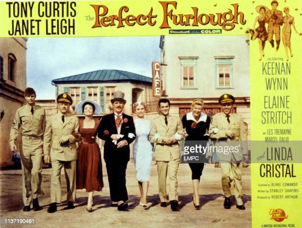 The Perfect Furlough poster Troy Donahue Les Tremayne Linda Cristal Keenan Wynn Janet Leigh Tony Curtis Elaine Stritch King Donovan 1959