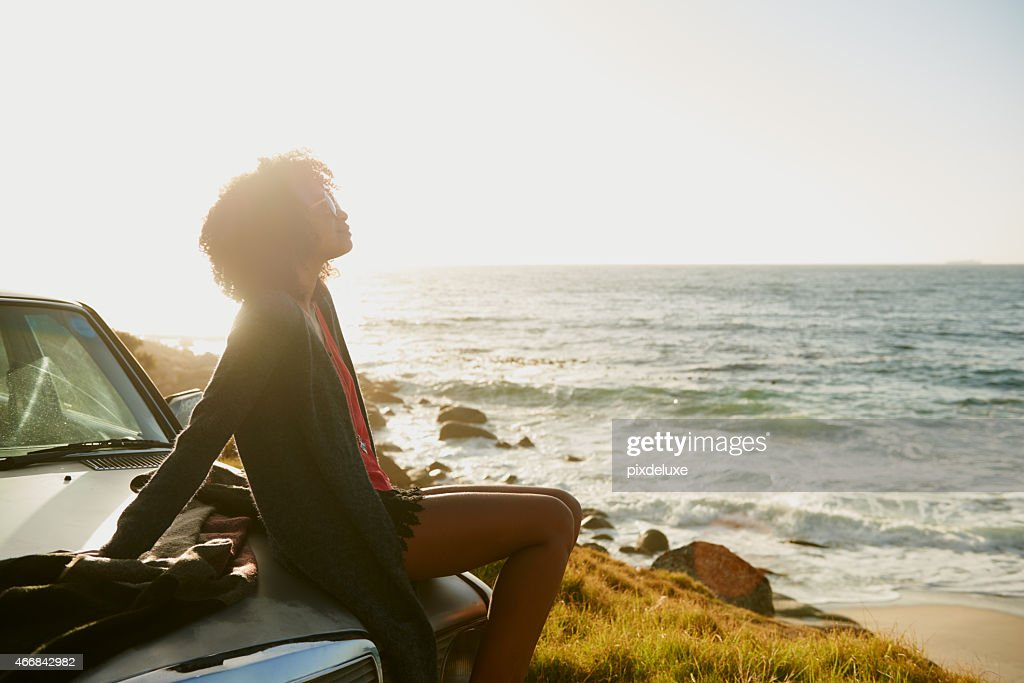 The perfect getaway : Stock Photo