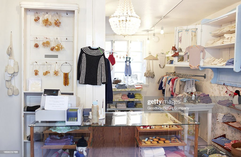 The perfect little boutique : Stock Photo