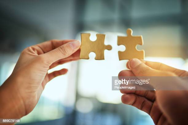 the perfect match - jigsaw piece stock pictures, royalty-free photos & images