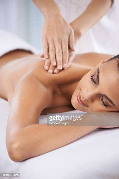 the perfect me-time - massage stock photos and pictures