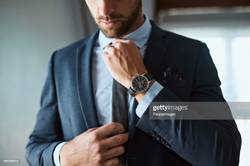 The perfect outfit means a perfect day : Stock Photo