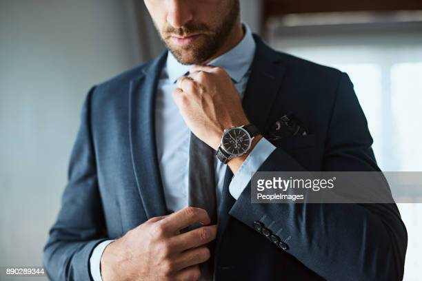 the perfect outfit means a perfect day - men fashion stock photos and pictures