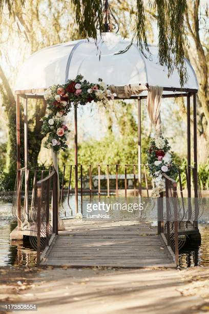 the perfect place to start a beautiful life together - wedding background stock pictures, royalty-free photos & images
