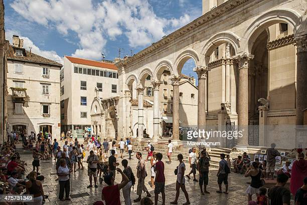 The peristyle of the Diocletian's Palace