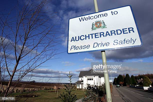 The Perthshire village of Auchterarder is seen March 9, 2005 as preparations are underway for the 2005 G8 Summit at Gleneagles Hotel in Auchterarder,...