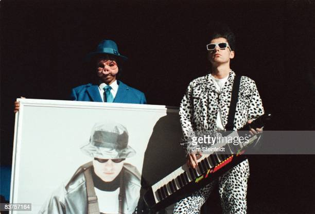 The Pet Shop Boys perform at the Orpheum Theatre in Minneapolis Minnesota on April 3 1991