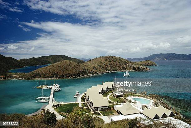 The Peter Island Resort on the privately owned Peter Island in the British Virgin Islands March 1973